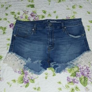 Mossimo Denim Boho Shorts